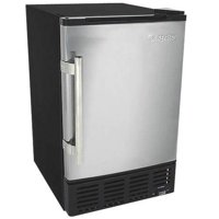 "EdgeStar IB120 15"" Wide 6 Lbs. Capacity Built-In Ice Maker with 12 Lbs. Daily Ice Production"