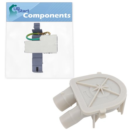 8318084 Washer Lid Switch & 3363394 Washing Machine Pump Replacement for Roper RAS7133PQ0 Washer - Compatible with WP8318084 Lid Switch & WP3363394 Water Pump Assembly - UpStart Components Brand - image 4 de 4