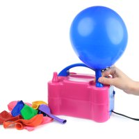 Zimtown Portable Electric Balloon Air Pump,110V 600W,Balloon Inflator with Manual and Automatic Modes,for Both Latex and Decorative Balloons