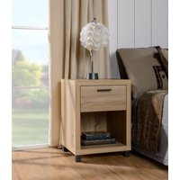 Mainstays Madison Collection 1-Drawer Nightstand, Multiple Colors