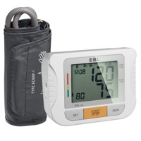 EBL Upper Arm Blood Pressure Monitor with Arm Cuff - Large LCD Display, Highly Accurate and Lightning Fast, FDA-Certified