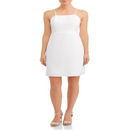 Women's Cami Mini Dress (Latex Mini Dress)
