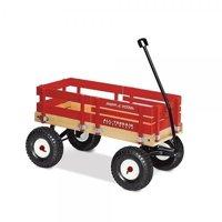 Radio Flyer, All-Terrain Wood Cargo Wagon, Model #29, Red