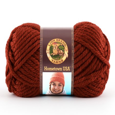 Lion Brand Yarns Hometown USA Acrylic Tampa Size Classic Bulky Yarn, 1 Each - Easy Halloween Crafts Yarn