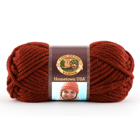 Lion Wool Ease Chunky Yarn (Lion Brand Yarns Hometown USA Acrylic Tampa Size Classic Bulky Yarn, 1 Each )