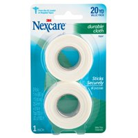 Nexcare Durable Cloth, 1 inch x 360 inch (25,4 mm x 9,14 m)