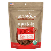 Full Moon All Natural Human Grade Dog Treats, Beef Jerky, 28 Ounce