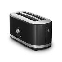 KitchenAid RKMT4116OB 4-Slice Long Slot Toaster High Lift Lever Onyx Black (CERTIFIED REFURBISHED)