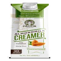 (3 Pack) Califia Farms Unsweetened Creamer 32oz