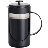 BonJour Coffee Unbreakable Plastic French Press, 3-Cup, Ami-Matin, Multicolor