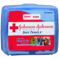 JOHNSON & JOHNSON First Aid Kit Safe Travels 1 Each (Pack of 2)