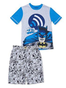 Boys' Batman 2 Piece Pajama Short Set (Little Boy & Big Boy)