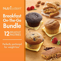 Nutrisystem Breakfast On-The-Go Variety Bundle Muffins, 12 Ct