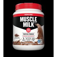 Muscle Milk Genuine Protein Powder, Chocolate, 32g Protein, 1.9 Lb