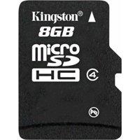 Kingston 8GB microSDHC Flash Memory Card