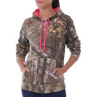 Women's Camo Fleece Pullover Hoodie
