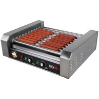RollerDog Big 30 Stainless Steel Hotdog Roller with Drip Tray