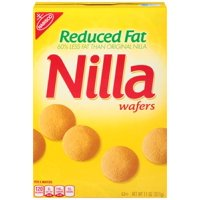 (3 Pack) Nabisco Nilla Wafers, Reduced Fat, 11 Oz