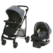 Graco Modes Essentials Travel System with SnugRide 30 Infant Car Seat, Tin