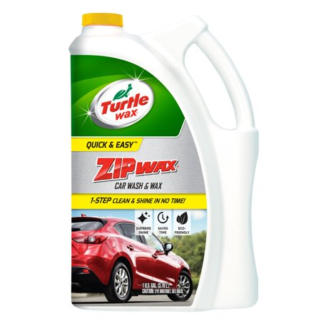 Turtle Wax Zip Wax Car Wash -