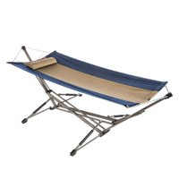 Kamp Rite Indoor Outdoor Camping Kwik Set Portable Collapsible Hammock w/ Stand
