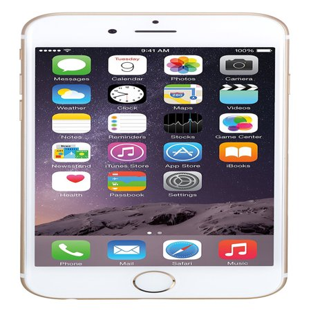Refurbished Apple iPhone 6 64GB, Gold - Unlocked (Iphone 5 64gb Silver Price In India)