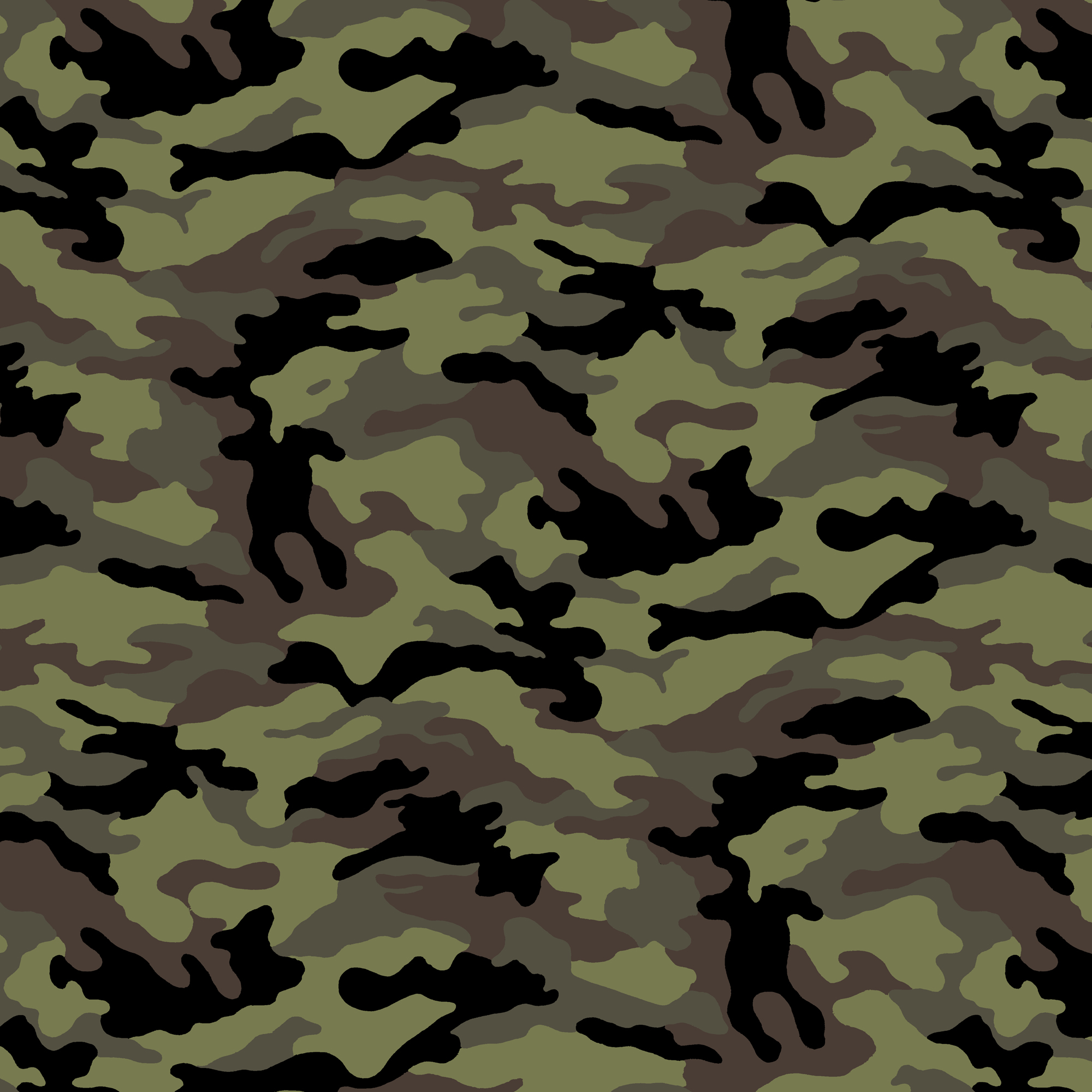 "VELBOA FABRIC GREEN ARMY CAMOUFLAGE FAUX FUR 60/""x36/"""