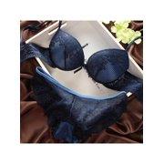 0983804a1b7b Topumt Women Ladies Lace Bra Sets Embroidery Push Up Bra +Panties Knickers  Underwear Cute Girl