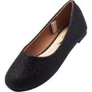 ad7cdcbd96d7 Norty Girls Fashion Ballerina Ballet Slip On Flat Shoe Toddler - Big Girls