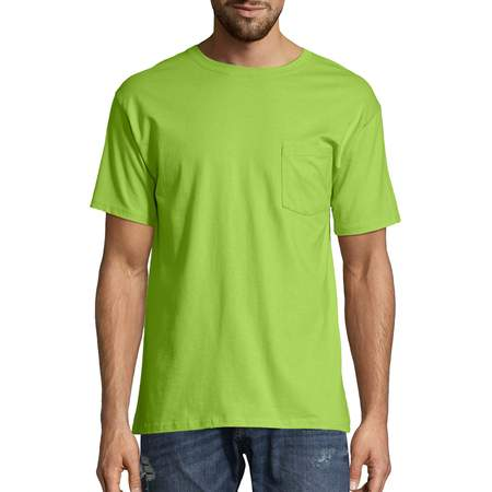 Appy Tee (Men's Tagless Crew Neck Short Sleeve Pocket Tshirt )