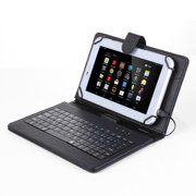 For LG G Pad 7.0 V400 V410 Tablet Flip PU Leather Folio Keyboard Case Stand Cover