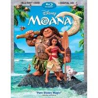 Moana (Blu-ray + DVD + Digital HD)