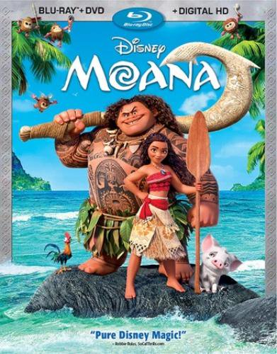 Moana (Blu-ray + DVD + Digital - Halloween 2 Remake Blu Ray