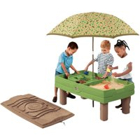 Step2 Naturally Playful Sand and Water Activity Table - Value Bundle 8-piece Accessory Set