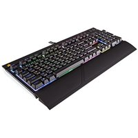 CORSAIR STRAFE RGB Mechanical Gaming Keyboard - USB Passthrough - Linear and Quiet - RGB LED Backlit