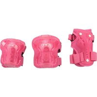 Roller Derby® Girls Youth Protective Wrist, Elbow, & Knee Pad Set 6 pc Pack