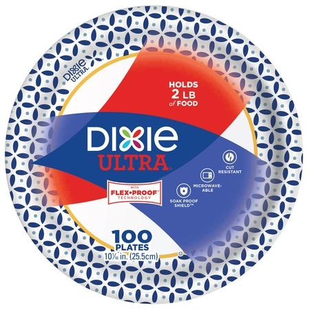Dixie Ultra Paper Dinner Plates, 10 1/16