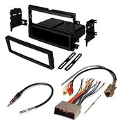 ford f450 super duty car radio stereo radio kit dash installation mounting wiring  harness radio antenna