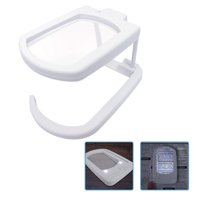 MagniPros Ultra Bright LED Multi-functional Magnifying Glass with Stand & Lanyard- 2.5X Rectangular Lens