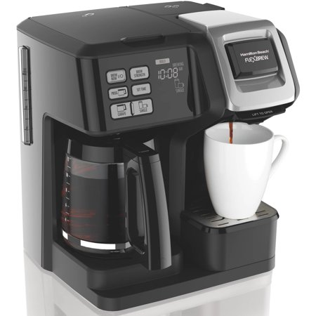 Hamilton Beach FlexBrew 2-Way Coffee Maker | Model# 49976 Delay Brew Coffee Maker