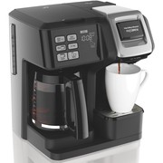 Best Coffee Makers - Hamilton Beach Programmable Coffee Maker, Flexbrew Single Serve Review