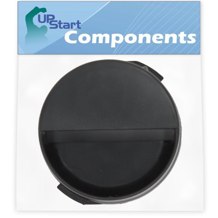 2260502B Refrigerator Water Filter Cap Replacement for Kenmore / Sears 10655529400 Refrigerator - Compatible with WP2260518B Black Water Filter Cap - UpStart Components Brand - image 1 of 4