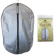 2 Garment Storage Bag Protect 40 Suit Cover Gown Bags Dress Dust Travel