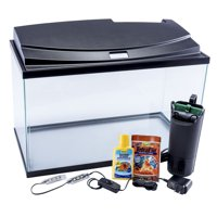 Tetra Goldfish LED Aquarium Starter Kit, 10-Gallon Tank