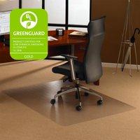 Floortex Cleartex Ultimat 35 x 47 Chair Mat for Low and Medium Pile Carpet, Rectangular