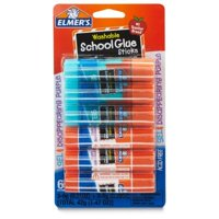 (2 Pack) Elmer's Washable School Glue, Gel & Disappearing Purple, 6 Pack