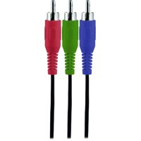 Onn Component Video Cable with Audio, 6'