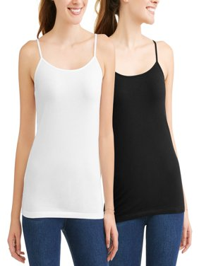 Women's Cami Tank Top, 2 Pack Bundle