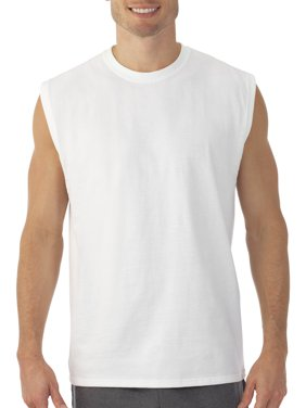 Men's Dual Defense UPF Muscle Shirt, Available up to sizes 4X