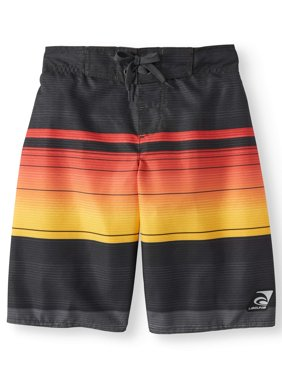 Sundown Bold Stripe Swim Trunks (Big Boys)